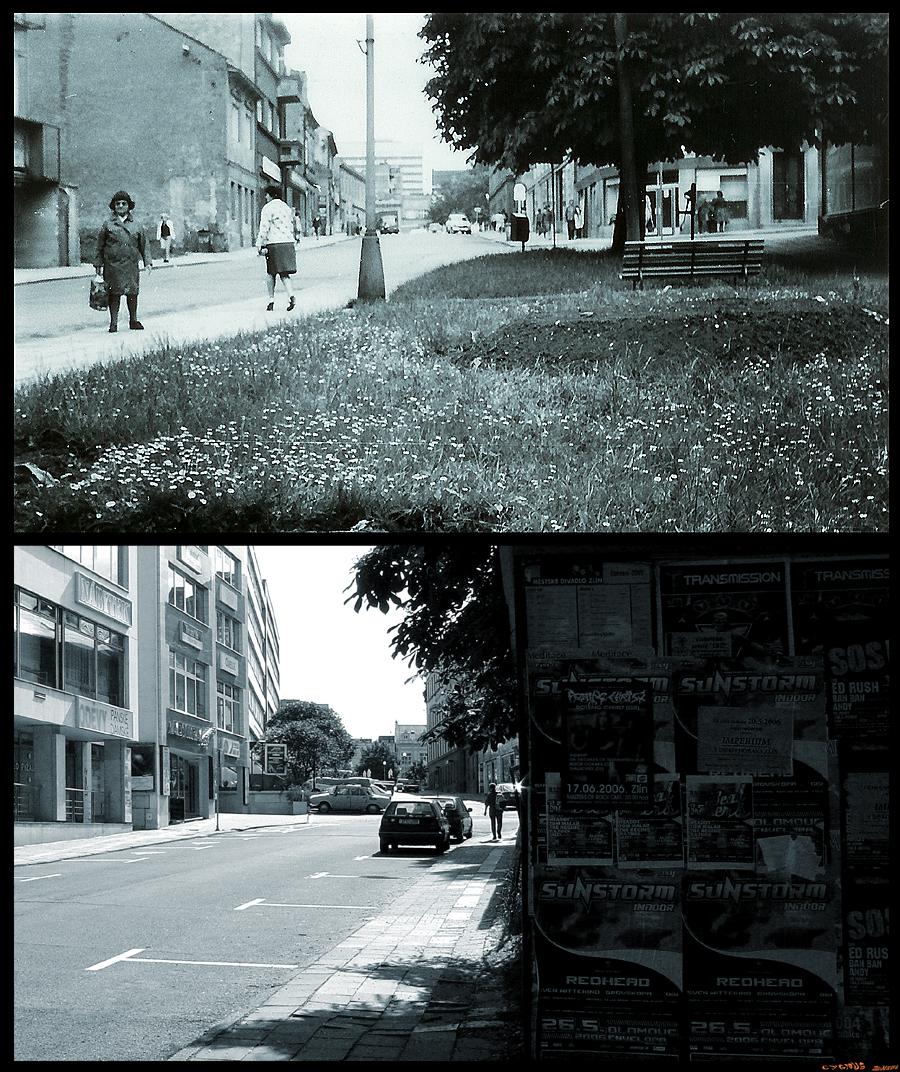 ulice - Bartošova od západu