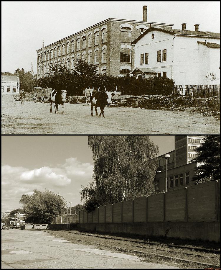 Baťovy závody - první tovární budovy