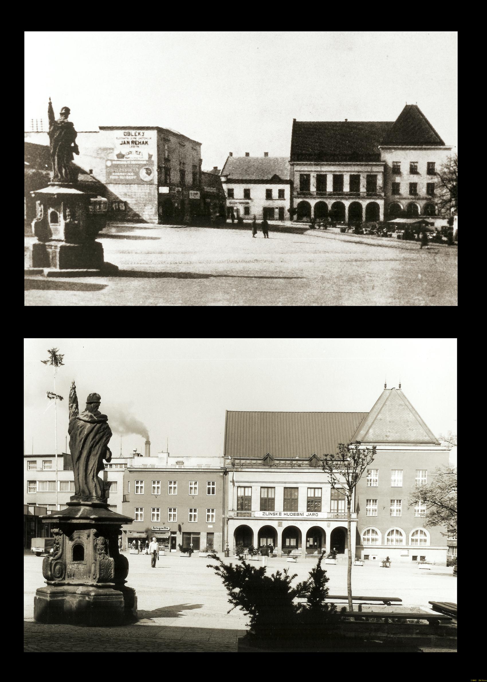 náměstí Míru - od Floriána k radnici