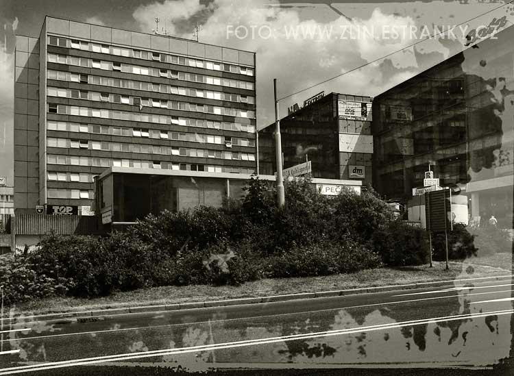 1974 - Kvítková - velkokapacitní byt. dům
