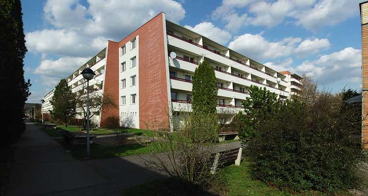 postavené - Jižní svahy - blok 14a a 14b od jihozápadu