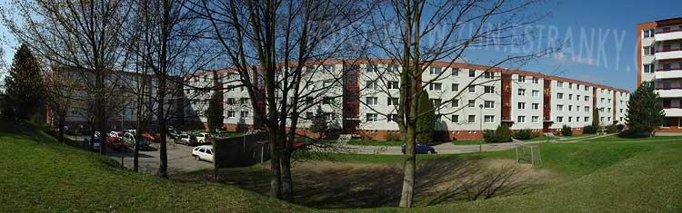 Postavené - Jižní svahy - blok 14. od východu