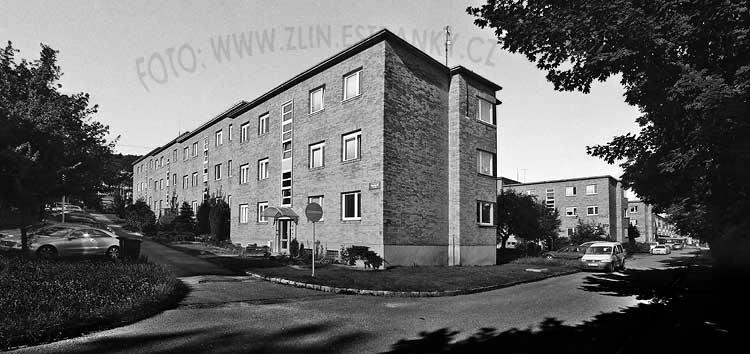 1947-49 - Čtvrť Julia Fučíka - III. blok z východu