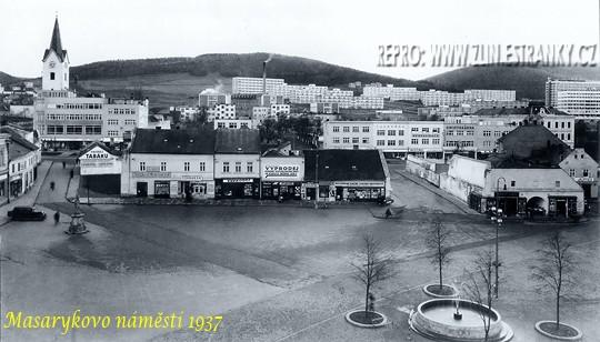 d649d8bb088 Blok domů na náměstí v roce 1937 - do konce čtyřicátých let nedílná součást  náměstí Míru (tehdy Masarykova a Hlavního). Poslední bourání proběhlo v  roce ...